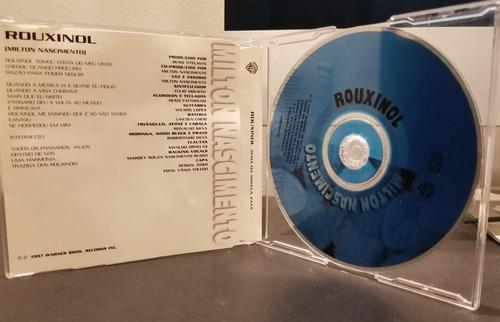 cd single milton nascimento: rouxinol - raro - frete 10,00