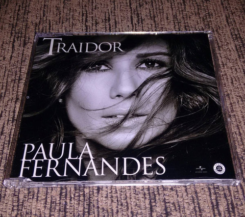 cd single paula fernandes - traidor 2017 promocional fan