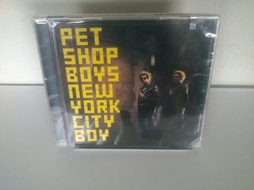 cd single pet shop boys 9 versões new york city boy lacrado