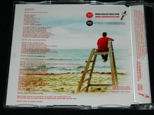 cd single promo jarabe de palo bonito