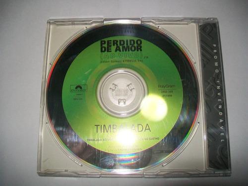 cd single promo timbalada - excelente estado