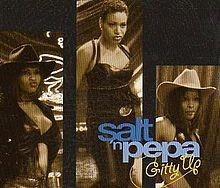 cd single  salt n' pepepa gitty up
