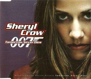 cd single  sheryl crow , tomorrow never dies