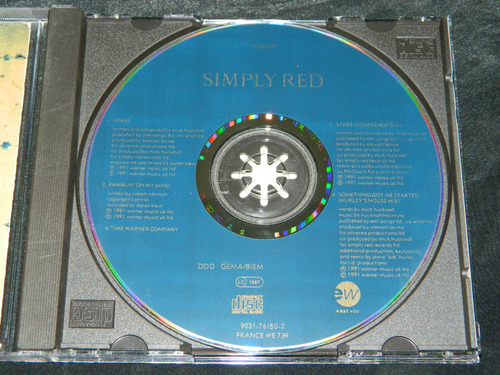 cd single simply red stars