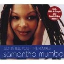 cd single smantha mumba gotta tell you the remix  7x