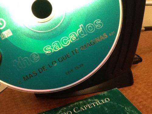 cd single the sacados ¨mas de lo que te imaginas¨ pop 90s