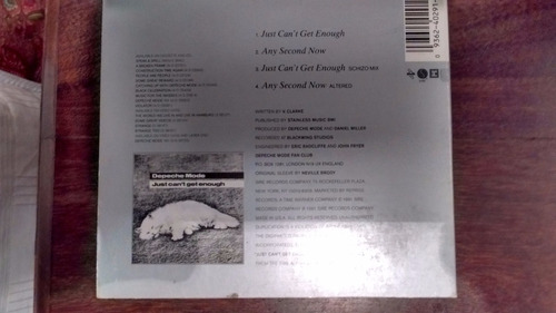 cd single usa depeche mode i just can´t get enough