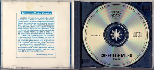 cd sivuca - cabelo de milho - 1980 - clara nunes fagner