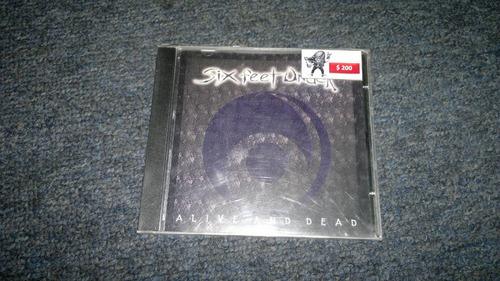 cd six feet under alive and dead importado en formato cd