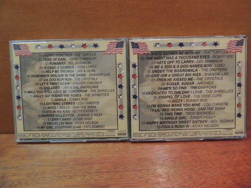 cd sixties usa 4 cds anos 60
