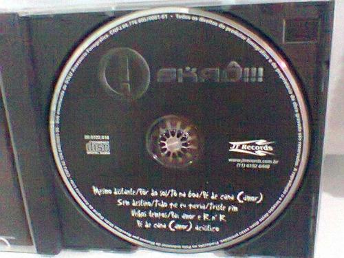 cd skaô !!!  /  mesmo distante   (frete grátis)
