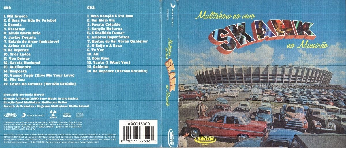 GRATIS AO CD NO BAIXAR SKANK VIVO MINEIRO