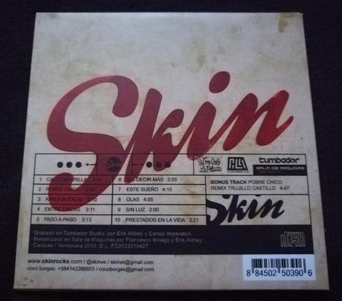 cd skin rock venezolano de colección