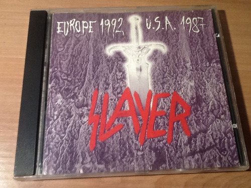 cd slayer  - europe 1992 usa 1987 cd raro