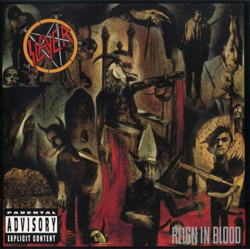 cd slayer - reign in blood (952682)