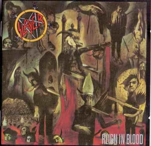 cd slayer - reing in blood importado 29,90 + frete