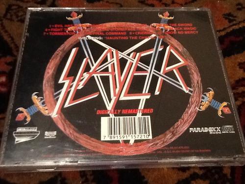 cd slayer - show no mercy / haunting the chapel *raro*
