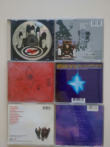 cd sm, billy idol, the cure