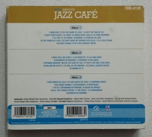cd smooth jazz cafe