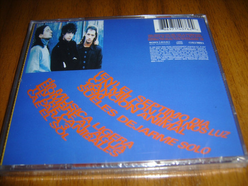 cd soda stereo / cancion animal (nuevo y sellado)