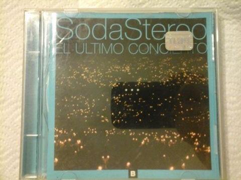 cd soda stereo el ultimo concierto - como nuevo