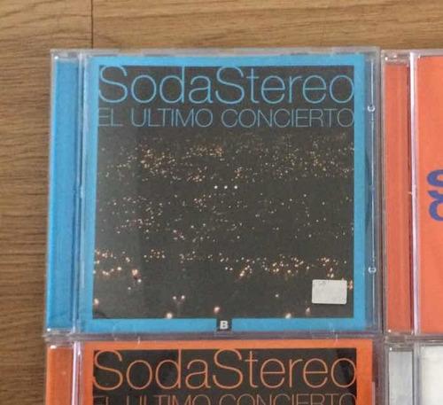 cd - soda stereo - gustavo cerati