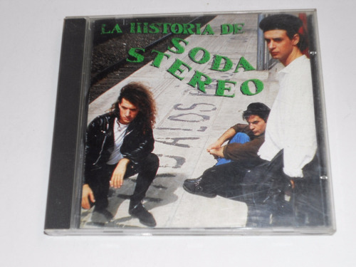 cd soda stereo la historia envio gratuito