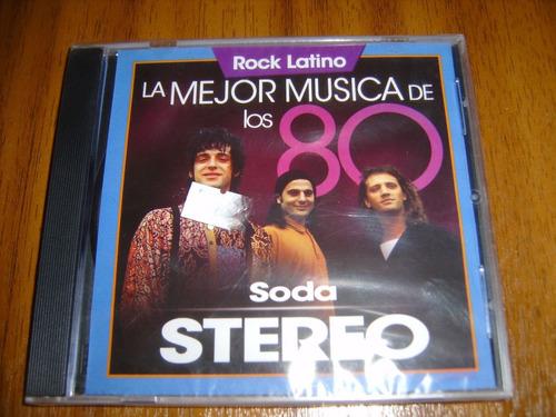 cd soda stereo / la mejor musica de los 80 (nuevo y sellado)