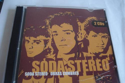 cd soda stereo obras cumbres doble cd