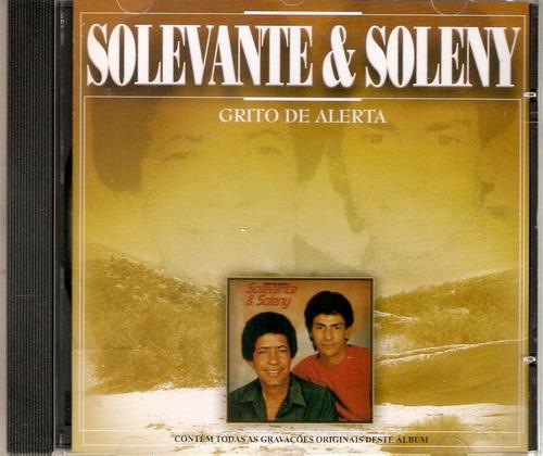 cd solevante & soleny - grito de alerta - novo***