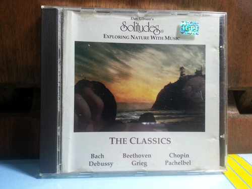 cd solicitudes exploring nature with music - dan gibson´s