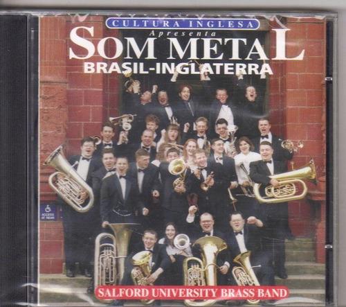 cd som metal, brasil - inglaterra, original - lacrado