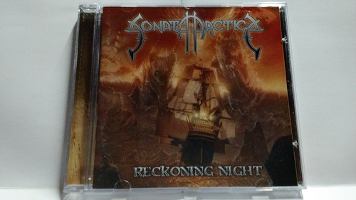cd sonata arctica - reckoning night