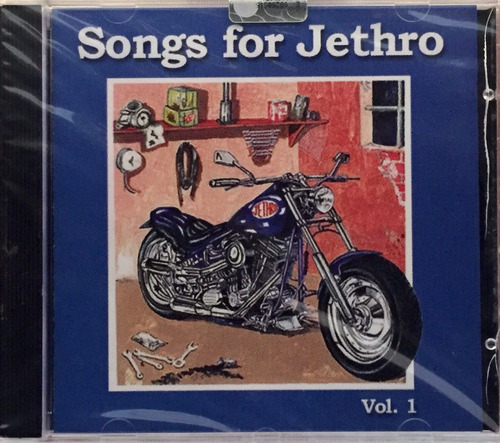 cd songs for jethro vol 1 - varios artistas - imp. lacrado