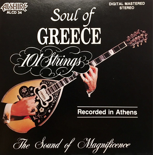 cd soul of greece 101 strings importado