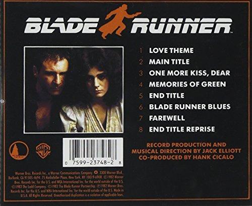 cd : soundtrack - blade runner (original soundtrack)  (4828)