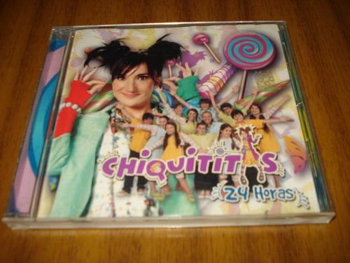 cd soundtrack serie chiquititas / 24 horas