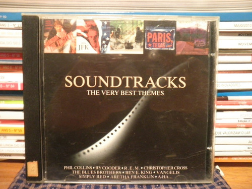 cd soundtracks - the very best themes - importado