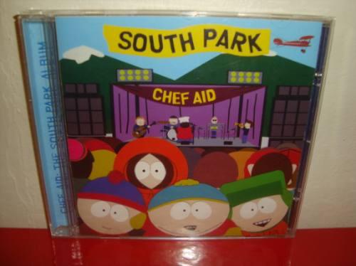 cd  south park  chef aid  arte som