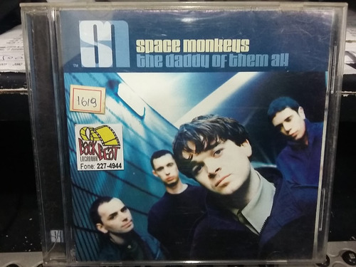 cd - space monkeys: the daddy of them all