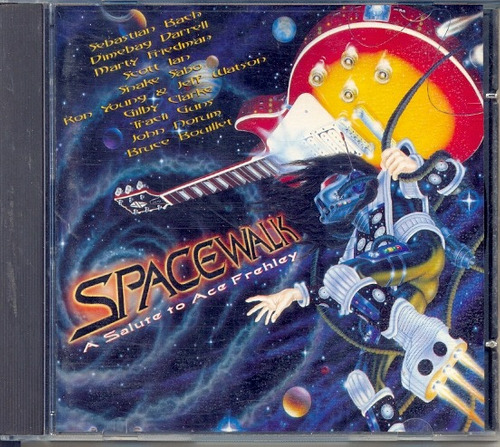 cd spacewalk - a salute to ace frehley - 1996 - kiss