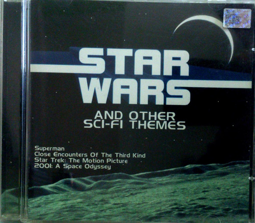 cd star wars - and other themes - superman, star treck