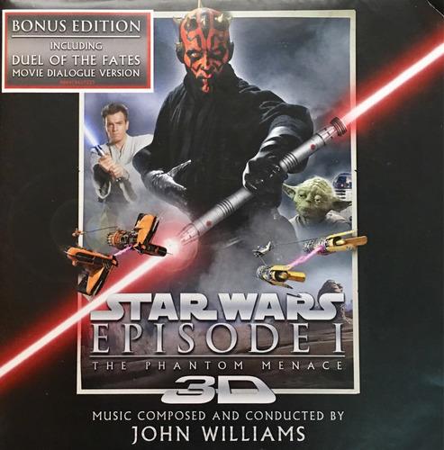 cd star wars episode1 the phantom m john williams soundtrack