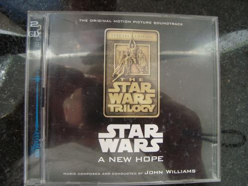 cd star wars trilogy importado u.s.a, duplo