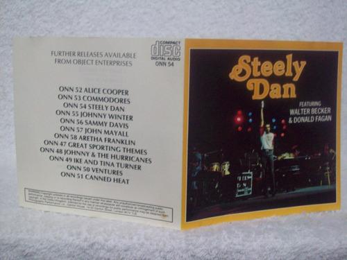 cd steely dan featuring walter becker and donald fagan