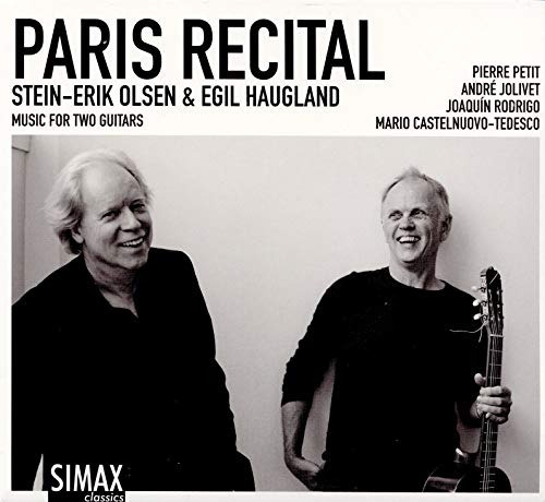 cd : stein-erik olsen - egil haugland - paris recital
