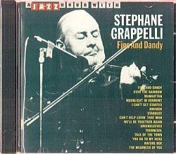 cd stephane grappelli - jazz hour (usado-ótimo)