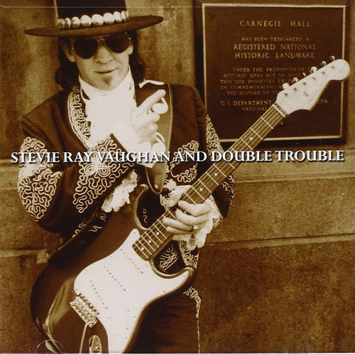 cd : stevie ray vaughan - live at carnegie hall (cd)