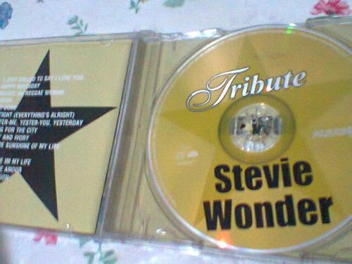 cd stevie wonder @  tribute   --2002--    (frete grátis)