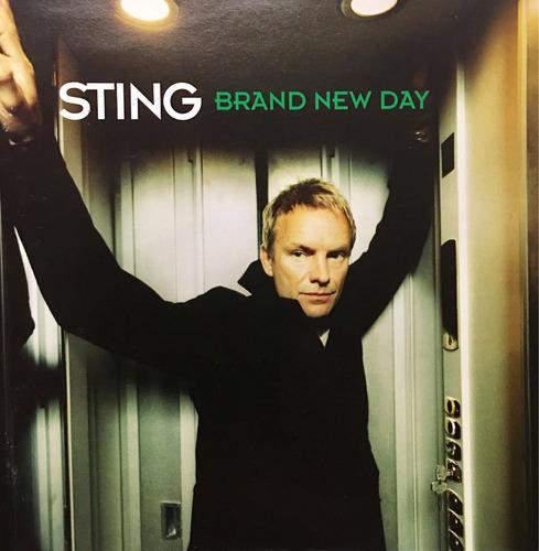 cd sting brand new day - usado
